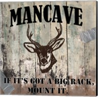 Mancave II Fine-Art Print