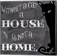 Without A Cat Fine-Art Print
