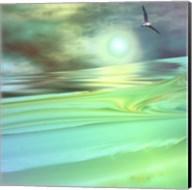 Aqua Dunes Fine-Art Print