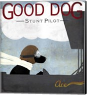 Good Dog Stunt Pilot Fine-Art Print