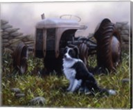 Minding the Tractor Fine-Art Print