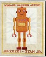 Stan Jr. Box Art Robot Fine-Art Print