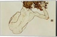 Crouching Nude Fine-Art Print