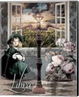 Art Nouveau Zodiac Libra Fine-Art Print