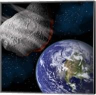 Asteroid Approaching Earth Fine-Art Print