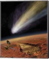 2014 Comet over Aromatum, Mars Fine-Art Print