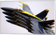 Four Blue Angels F/A-18C Hornets Fine-Art Print