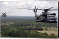 MH-53 Pave Low Helicopters Fine-Art Print
