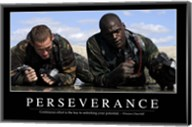 Perseverance: Inspirational Quote and Motivational Poster Fine-Art Print
