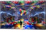 Extraterrestrial Life (3D) Fine-Art Print