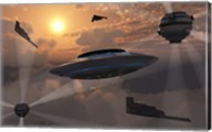 Alien Stealth Technology Fine-Art Print