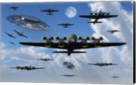 UFO Sightings during World War II Fine-Art Print