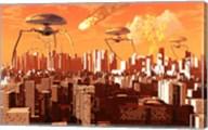 War of the Worlds Fine-Art Print