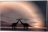 Courting Dinosaurs Fine-Art Print