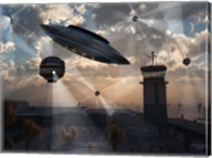 Stealth Technology being Developed on Area 51 Fine-Art Print