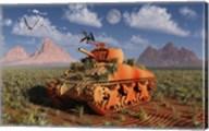 A World War II American Sherman Tank Fine-Art Print