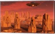 Aliens Leaving Mars Fine-Art Print