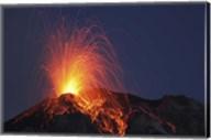 Stromboli Eruption, Aeolian Islands Fine-Art Print
