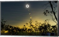 Solar Eclipse Composite Fine-Art Print