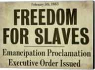 Emancipation Fine-Art Print