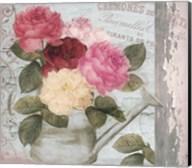 Chalet d ete roses Fine-Art Print