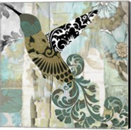 Hummingbird Batik II Fine-Art Print