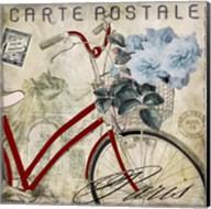 Postale Paris II Fine-Art Print