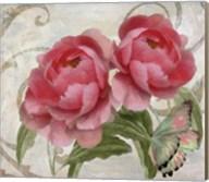 Apricot Peonies I Fine-Art Print