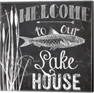 Lake House I Fine-Art Print