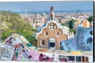 Park Guell Terrace, Barcelona, Spain Fine-Art Print