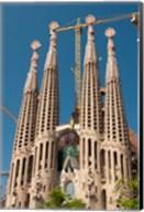 La Sagrada Familia by Antoni Gaudi, Barcelona, Spain Fine-Art Print