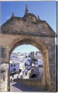 Entry to Jewish Quarter, Puerta de la Exijara, Ronda, Spain Fine-Art Print