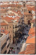 Rua Mayor, Salamanca, Spain Fine-Art Print