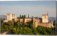 Spain, Andalusia, Granada Province, Granada View of Alhambra Palace Fine-Art Print