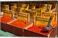Spain, Granada Spices for sale at an outdoor market in Granada Fine-Art Print
