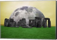 Full Moon over Stonehenge, England Fine-Art Print