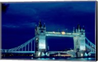 Tower Bridge Spanning the River Thames in London, England Fine-Art Print