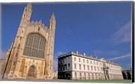 Cambridge Kings College, Cambridgeshire, England Fine-Art Print
