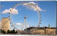 London Eye, Amusement Park, London, England Fine-Art Print