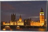Big Ben and the Houses of Parliament, London, England Fine-Art Print