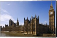 UK, London, Big Ben and Houses of Parliament Fine-Art Print