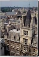 Roofs of Cambridge Univertisy, Cambridge, England Fine-Art Print