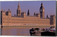 Parliament and Big Ben, London, England Fine-Art Print
