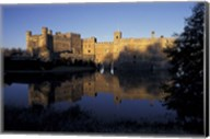 Sunset on Leeds Castle, Leeds, England Fine-Art Print