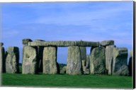 Abstract of Stones at Stonehenge, England Fine-Art Print