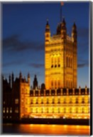 Victoria Tower, House of Parliament, London England Fine-Art Print