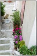 Street Detail, Vathy, Samos, Aegean Islands, Greece Fine-Art Print