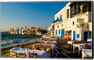 Little Venice, Mykonos, Greece Fine-Art Print