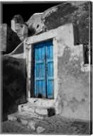 Colorful Blue Door, Oia, Santorini, Greece Fine-Art Print