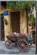 Old Wagon Cart, Chania, Crete, Greece Fine-Art Print